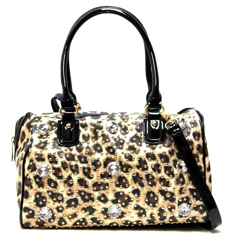 Fashion Leopard print Shoulder Bag - Animal Print