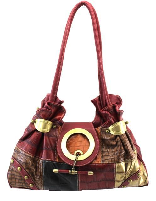 patchwork leather purse eBay