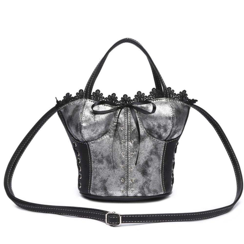 77bfa9813f8b Corset Shaped Satchel Bag - New Arrivals - Onsale Handbag