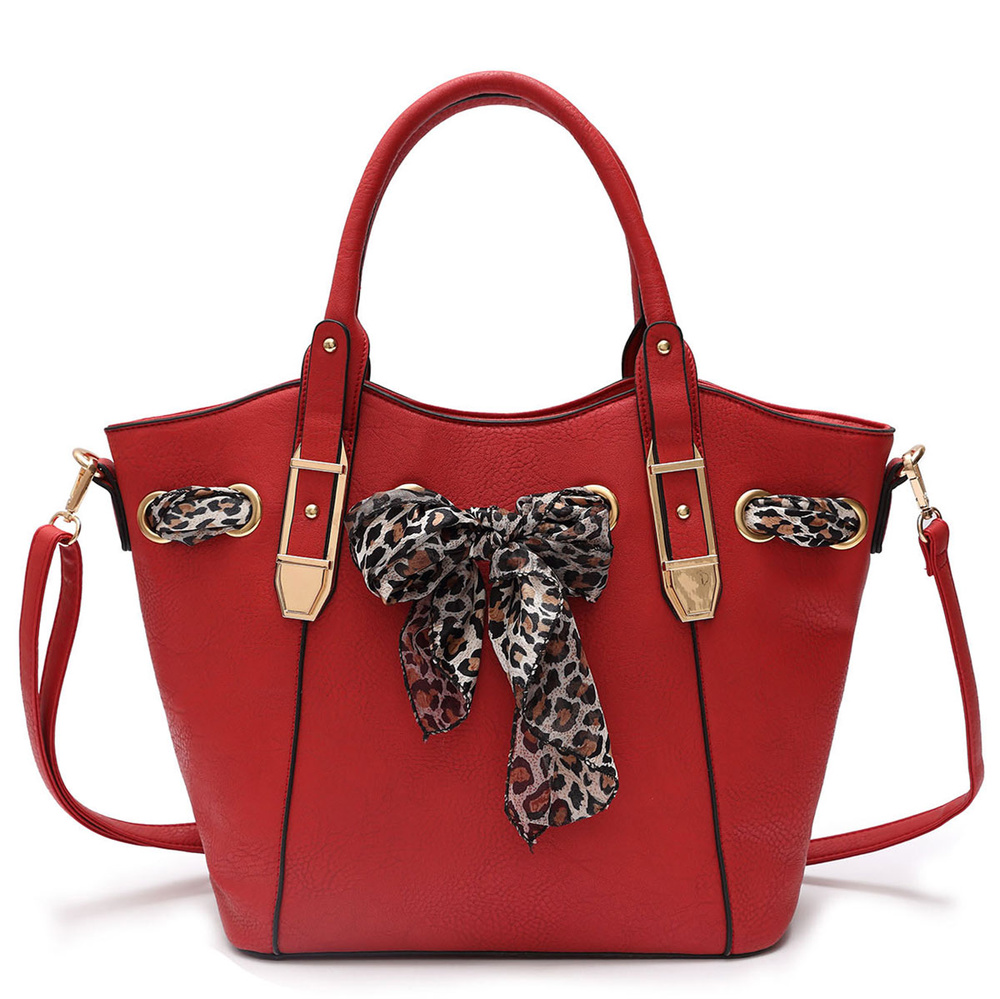 leopard scarf tote fashion handbags onsale handbag
