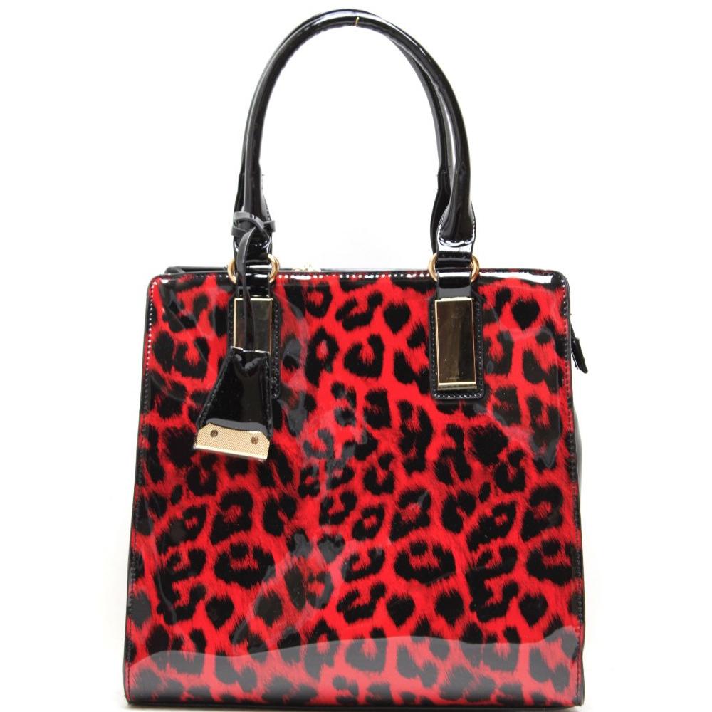 Tote bag in bulk - Fashion Handbag With Leopard Print