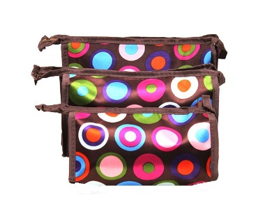 Makeup Accessory Bag  3 in 1(set)