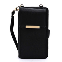 Bifold Wallet Crossbody Cell Phone Case