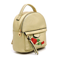 Fashion Embroidered Flower Cute  Backpack