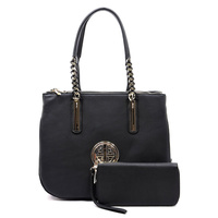 Fashion Chain Handle 2-in-1 Satchel