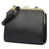 FASHION PUSH LOCK SATCHEL