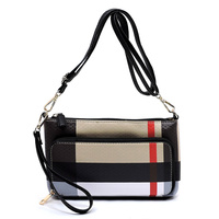 Plaid Check Print  Clutch Crossbody Bag