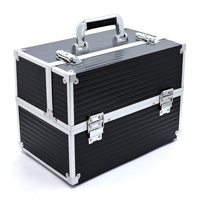 Makeup Train Case Professional Cosmetic Box