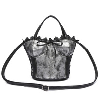 Corset Shaped Satchel Bag