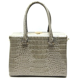Fashion Shoulder Handbag Croco Print