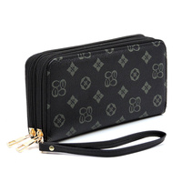 Zip Around Clutch Wallet Wristlet