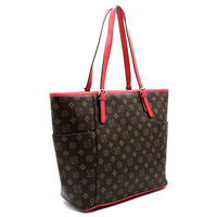 Monogrammed Signature Shopper Tote