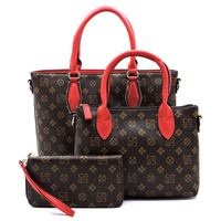 Monogrammed Signature 3-in-1 Satchel