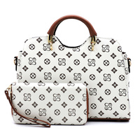 Monogrammed 2-in-1 Satchel