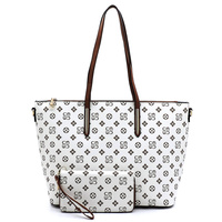 Monogrammed 2-in-1 Shopper