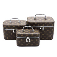 Monogram 3-in-1 Cosmetic Case