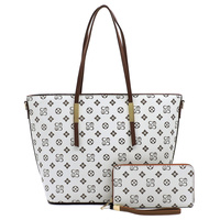 Monogram 2-in-1 Shopper