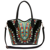 Bohemian Ostrich Top Handle Satchel
