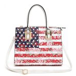 Fashion American Flag Handbag