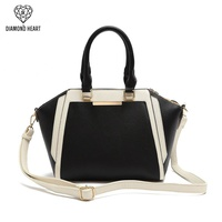 Top Handle Colorblock Satchel bag