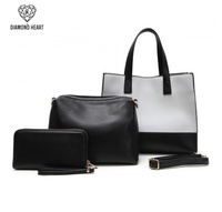 Fashion Box Satchel & Wallet Set(3 in 1)