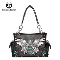 WESTERN  WING SHOULDER HANDBAG