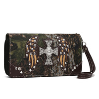 CROSS WING CAMOUFLAGE WALLET