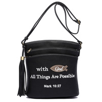 Bible Verse  Messenger Bag