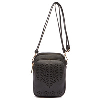 Laser Cut Cell Phone  Crossbody Bag
