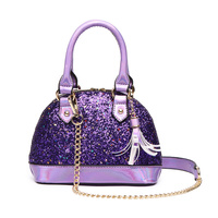 Glitter Metallic Cute Dome Satchel
