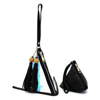 Hologram Tetrahedron 2-in-1 Clutch Wristlet