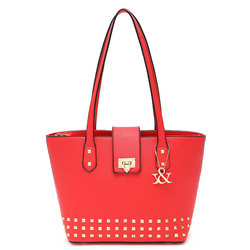 Fashion With Square Studs Deco Tote Bag