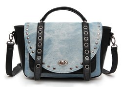 Fashion denim handbag