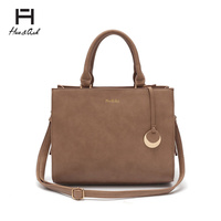 HUE & ASH BOX SATCHEL HANDBAG