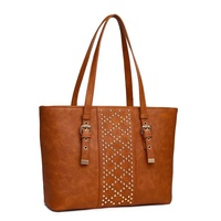 STUDED SHOPPER BAG