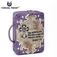Joshua 1:9 Western Bible Cover Case