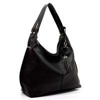 TASSELED FASHION SHOULDER HOBO BAG