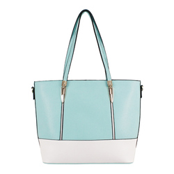 Fashion Two Tone Handbag
