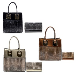 Wholesale Fashion Handbags (3pcs set with wallet)