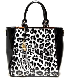 WHOLESALE FASHION HANDBAG (W/Leopard Print)
