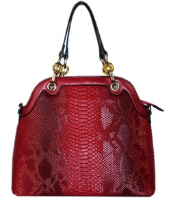 Fashion Snake print Handbag