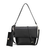 Fashion Flap 2 Way Satchel & Crossbody 2 in 1