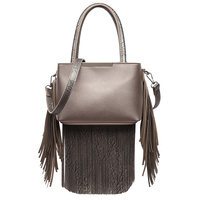 Top Handle Fringe Satchel