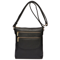 Fashion Zipper Crossbody Bag