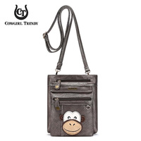 Monkey Crossbody Bag