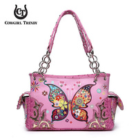 WESTERN BUTTERFLY SHOULDER BAG