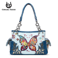WESTERN BUTTERFLY 2 in 1 SHOULDER BAG