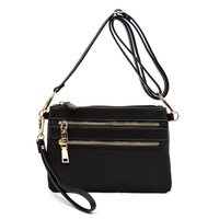 Nylon Crossbody Clutch Bag Wristlet