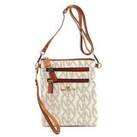 NX Signature Zip Crossbody Bag Wristlet