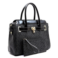 NX SIGNATURE SATCHEL& CLUTCH 2 IN 1 SET